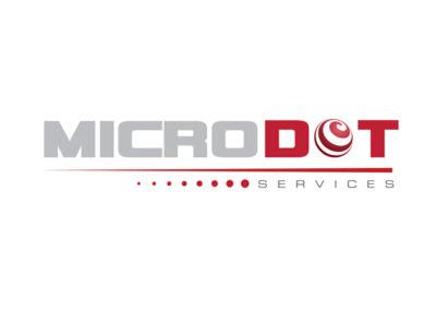 Microdot Services Logo Design