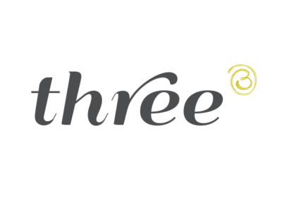 Three Logo Design